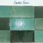 Hand Cut GARDEN GREEN Melange 3x6