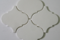 6x6 arabesque pearl white crackle
