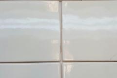 Acanthus Cracked Ivory with 6x6 Cracked Ivory