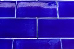 de cru craquele bleu coquille 3x6