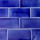 de cru craquele mer bleu 3x6