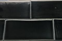 de cru craquele noire 3x6