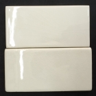 HC Creme Crackled 3x6 and Folio One Ice White Crackled