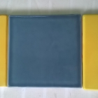 L to R Art Deco Sun Beam Yellow_Folio One Winter Storm and C10-28-8 yellow