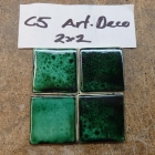 ART DECO C5 ALEXANDRITE GREEN