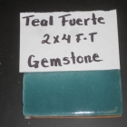 GEMSTONE TEAL DARK 2X4