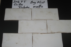 HC Bay Mist Matte Orillas Frotadas 3x6