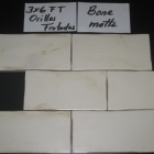 HC Bone Matte Orillas Frotadas 3x6