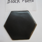 4 Hexagon Black Matte-1