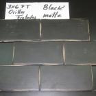 HC Black Matte Orillas Frotadas