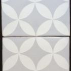 HC Silver : White Matte 8x8 Mosaico T-7