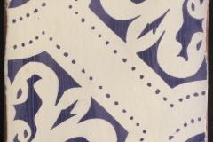 ORLEANS DARK BLUE no antiquing 6x6