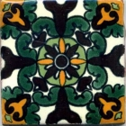 Unique 3x3 Talavera Deco # 5410-35
