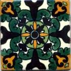 Unique 3x3 Talavera Deco # 5410-35