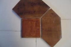 Antique Light Walnut Fat Picket 6x6 6x12 picket