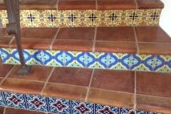 Antique Terra Cotta Stair Risers