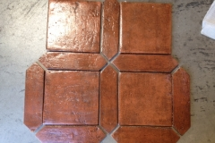 Antique Terra Cotta pickets 4x16 and square 12