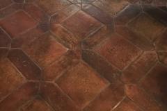 Picket 4x12 with 8x8 square Antique Terra Cotta