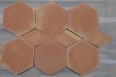 "Saltillo 8"" hex with Rhomboid"