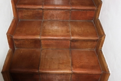 Terra Cotta stair tread and bullnose base