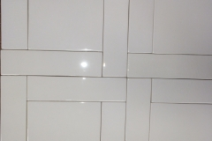 HC White gloss 6x6_HC White Crackle II 2x8