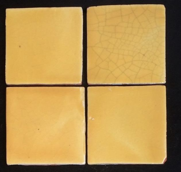 Antique Soft Yellow 4x4