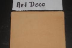 ORANGE CORAL 4X4 FT ART DECO